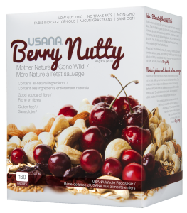 Berry Nutty Bars - vegan & gluten-free